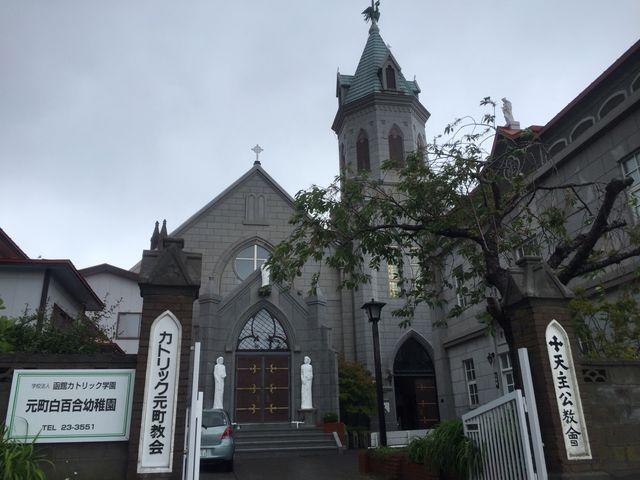 とても趣のある素敵な教会です_カトリック元町教会