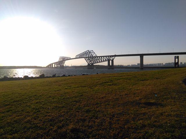 若洲南側からの全景_東京ゲートブリッジ