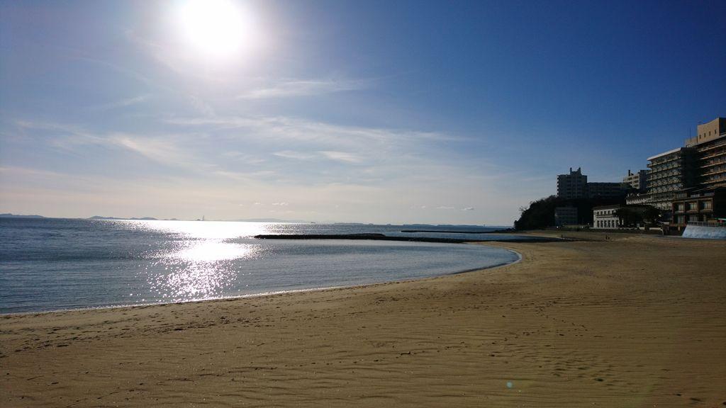 西浦温泉パームビーチ(海水浴場)
