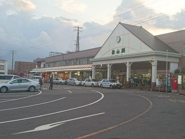 松山駅_JR松山駅