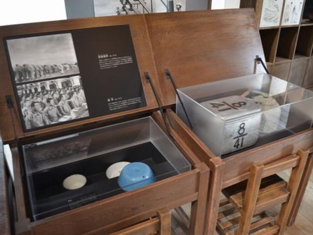 机に展示物_予科練平和記念館