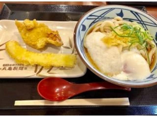 リーズナブルでボリューム満点でした☆_丸亀製麺 アリオ八尾店