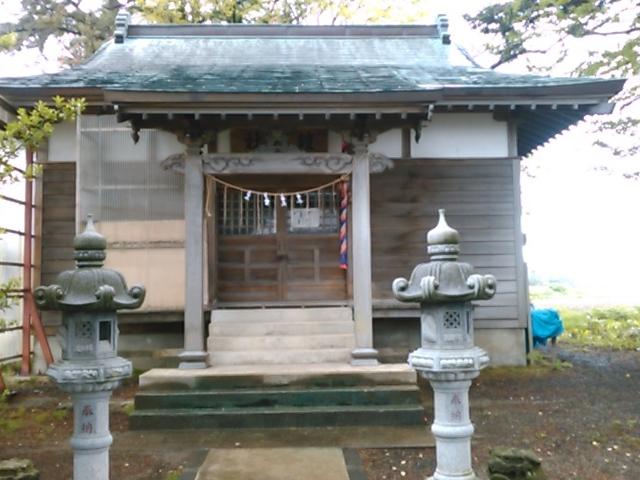 本堂。_鎧神社