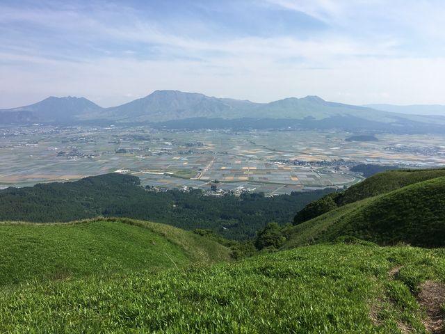 大観峰から阿蘇五岳_高岳