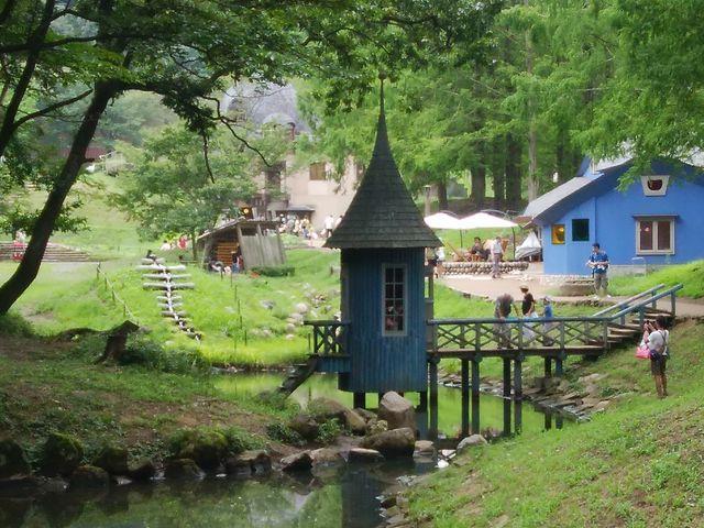 池の畔から撮影_トーベ・ヤンソンあけぼの子どもの森公園
