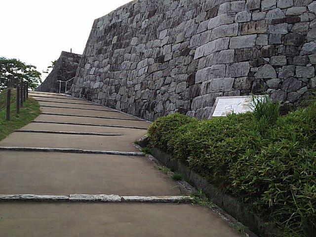 本丸跡_福島県立霞ヶ城公園(国指定史跡二本松城跡)