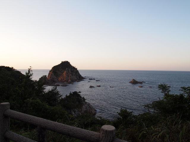 水平線_鴨ヶ磯展望所