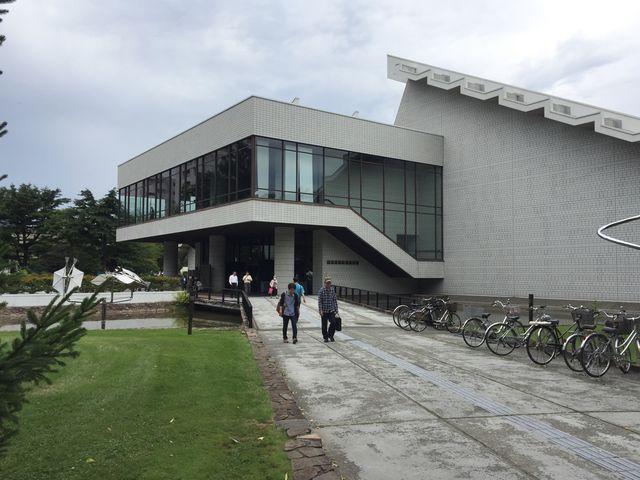 外観_北海道立近代美術館