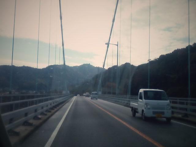 橋を通行中_安芸灘大橋