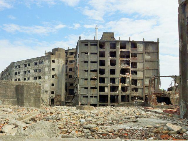 30号棟(大正5年建設の建物7階)_端島 (軍艦島)