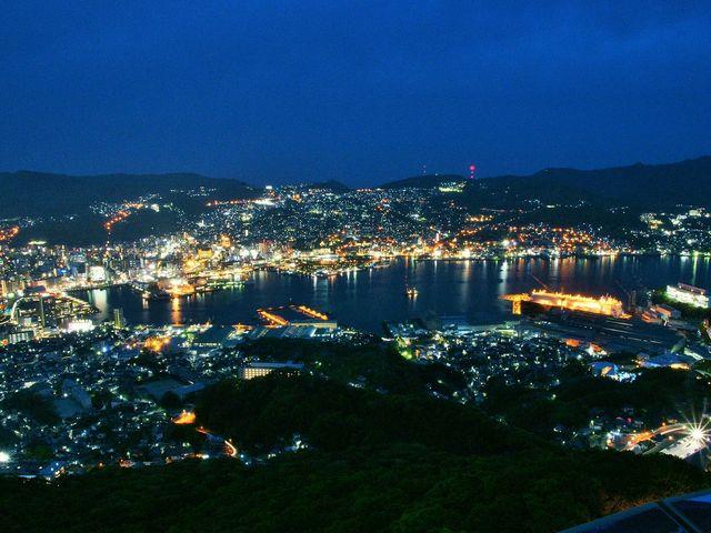 稲佐山からの夜景_稲佐山