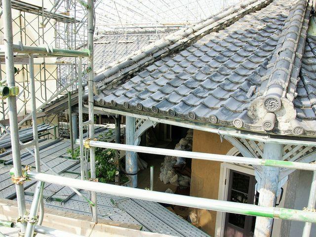 旧グラバー住宅修復中_グラバー園