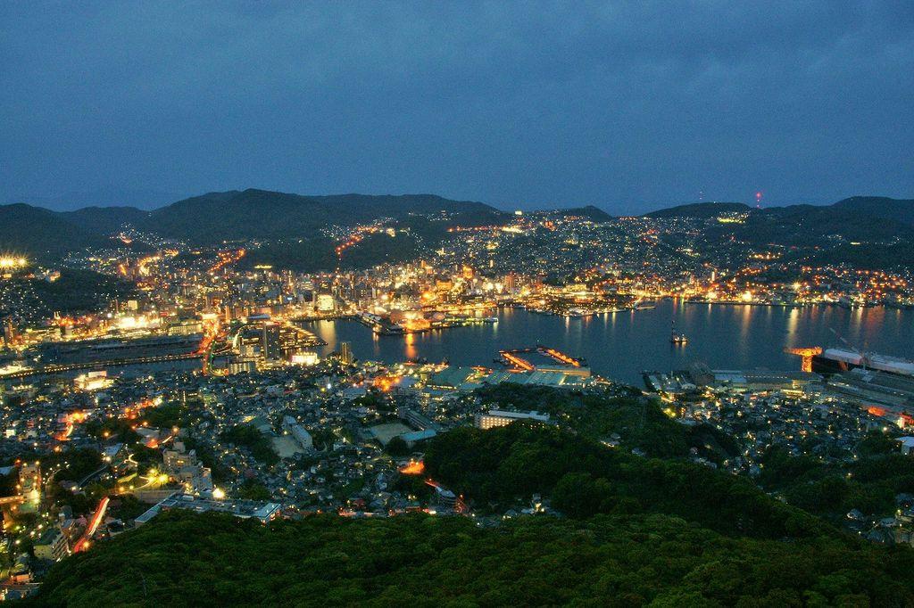 長崎市 しゃぶしゃぶ 夜景