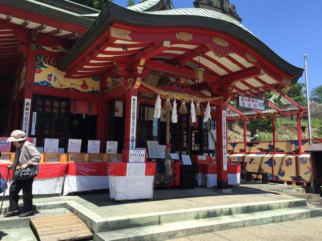 拝殿_熊本城稲荷神社