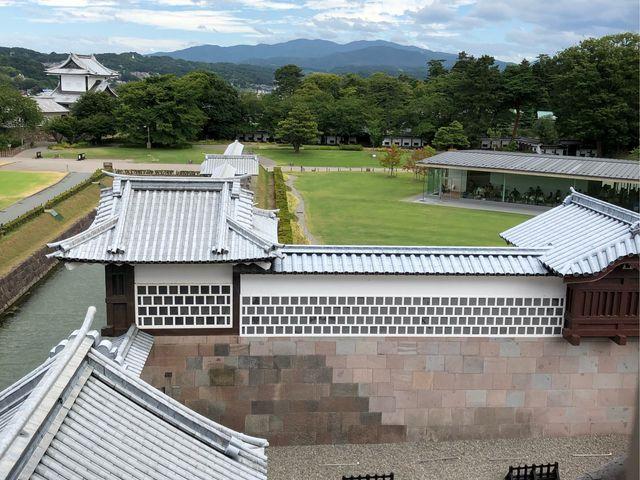 中から見た外の景色です。_金沢城 五十間長屋