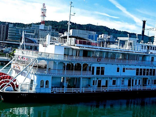 遊覧船ミシガン_琵琶湖