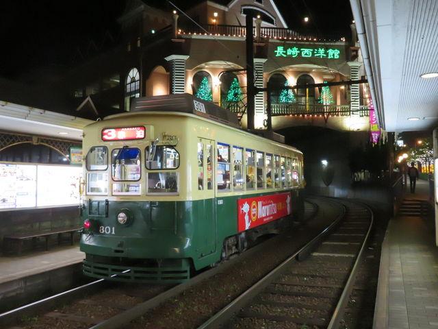風情溢れる_長崎電気軌道(長崎の路面電車)