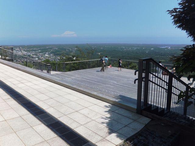 横山展望台:5つの展望台の中では一番低い場所にあります。_横山