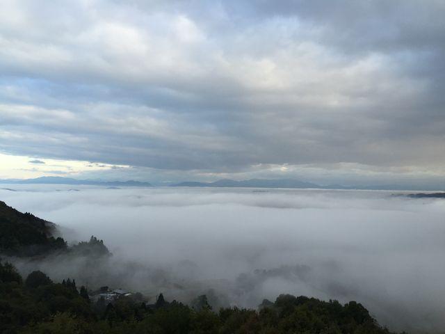 雲の上にいるみたい_天空の小部屋~季節のハーブティーと雲海付き~