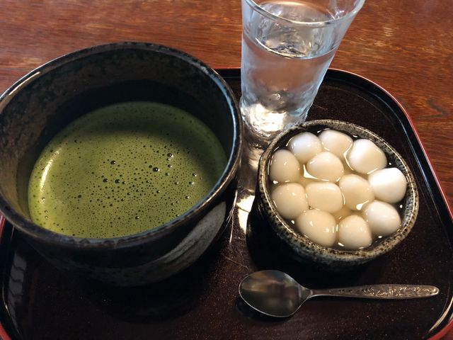 本日観光で来たので行ってきました! 抹茶もかんざらしとても美味しかったです。_しまばら水屋敷