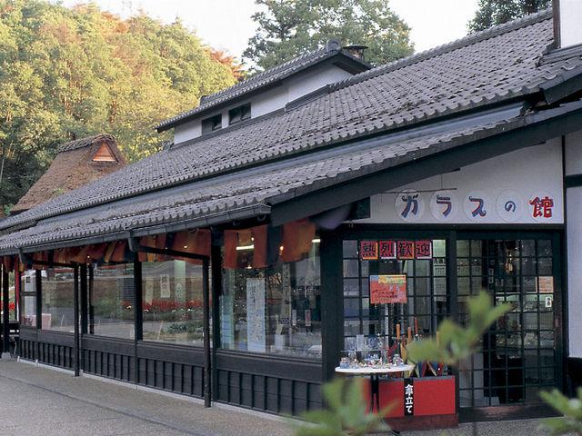 ガラス工芸の館_加賀 伝統工芸村 ゆのくにの森