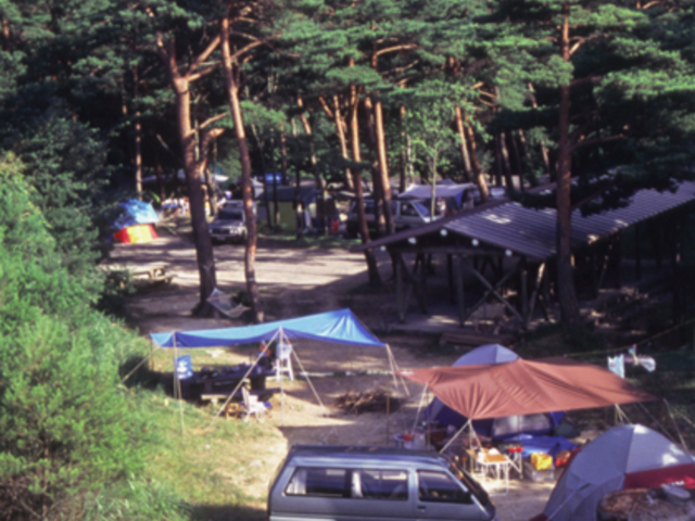 保古の湖キャンプ場 (国民宿舎恵那山荘)