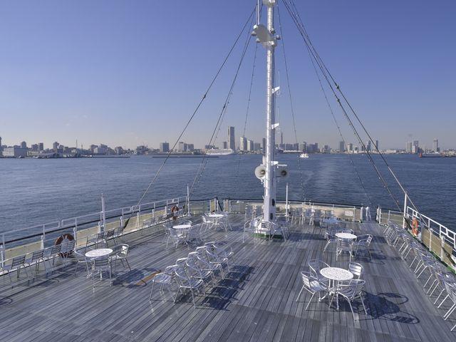 遮るものがない船上からの最高の景色_ロイヤルウイング