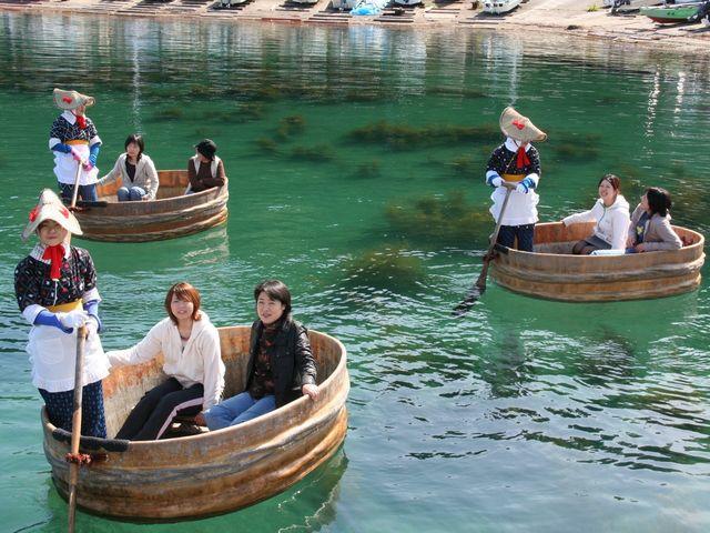 たらい舟力屋観光汽船