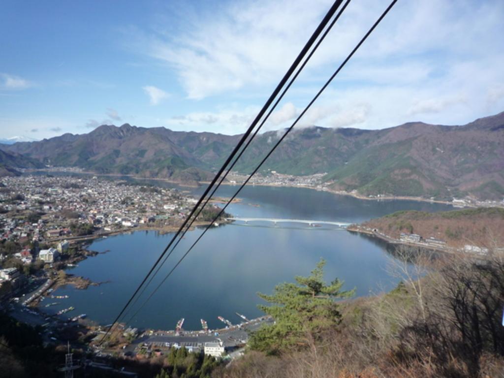 河口湖天上山公園カチカチ山ロープウェイ