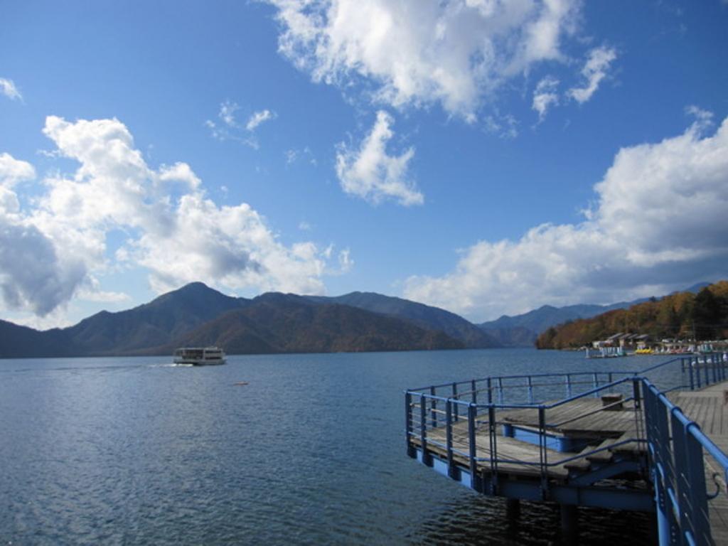 中禅寺湖 遊覧船