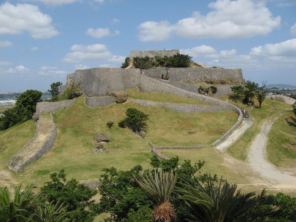 勝連城跡(世界遺産)