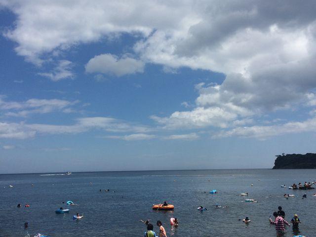 海はきれいでした_川奈いるか浜公園