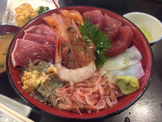 海鮮丼_魚河岸 丸天 魚河岸店