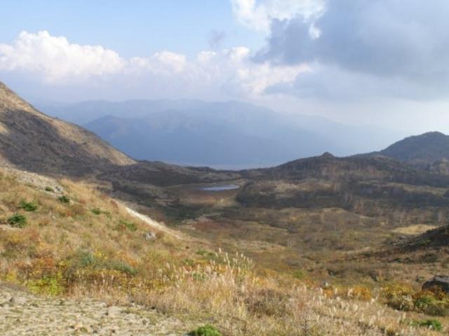 頂上付近2_磐梯山