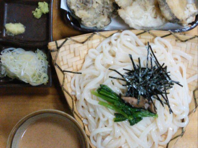 ごまだれで食べても美味しい。_水沢うどん 大澤屋(第二店舗)