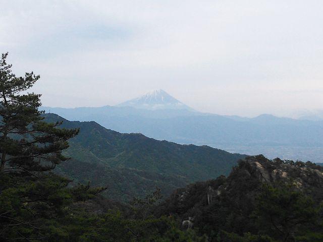 富士山!!_昇仙峡ロープウエイ