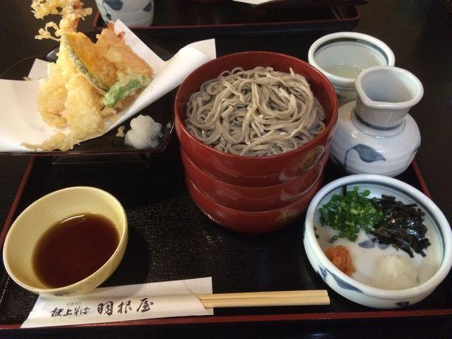天ぷら蕎麦_献上そば羽根屋