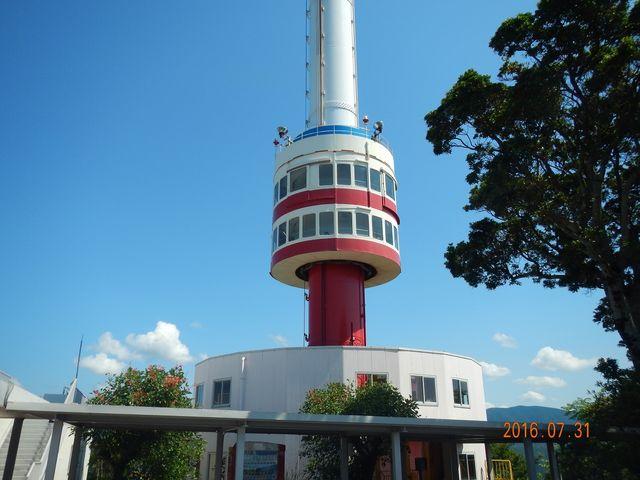 回転する宇和海展望タワー_宇和海展望タワー