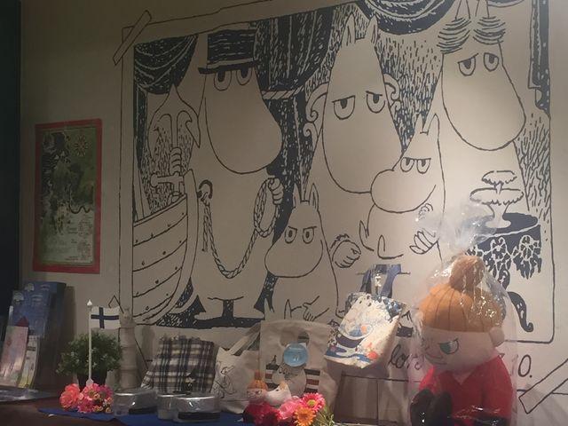 ムーミンがいっぱい_ムーミンベーカリー&カフェ キャナルシティ博多店