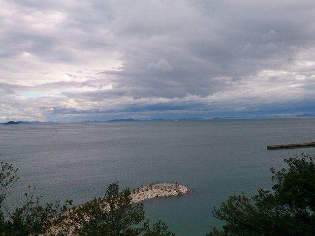 ホテルからの眺望。_インランド・シー・リゾート フェスパ