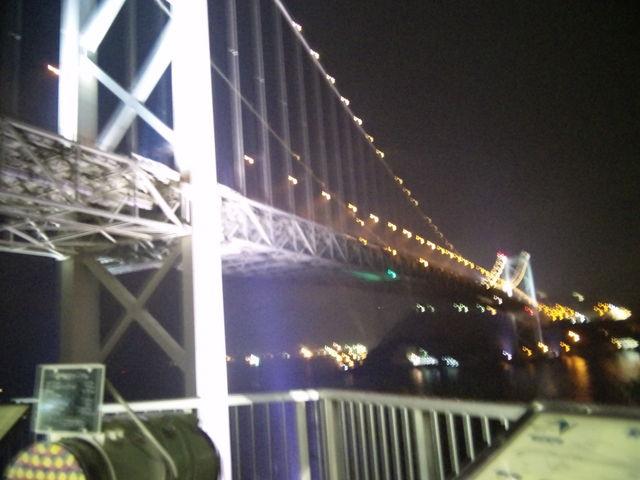 夜も綺麗です☆_関門橋