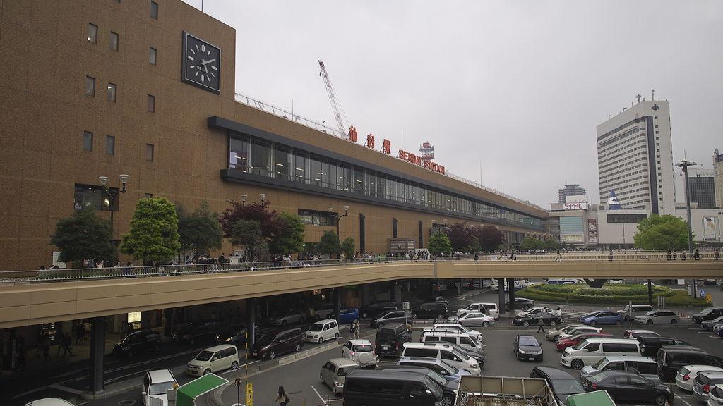 仙台駅(牛たん通り、すし通り)