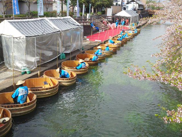 たらい舟_水の都おおがきたらい舟