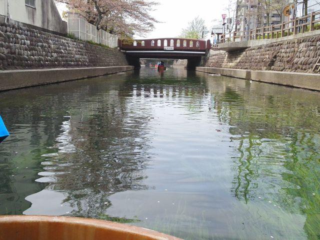 たらい舟からの視線_水の都おおがきたらい舟