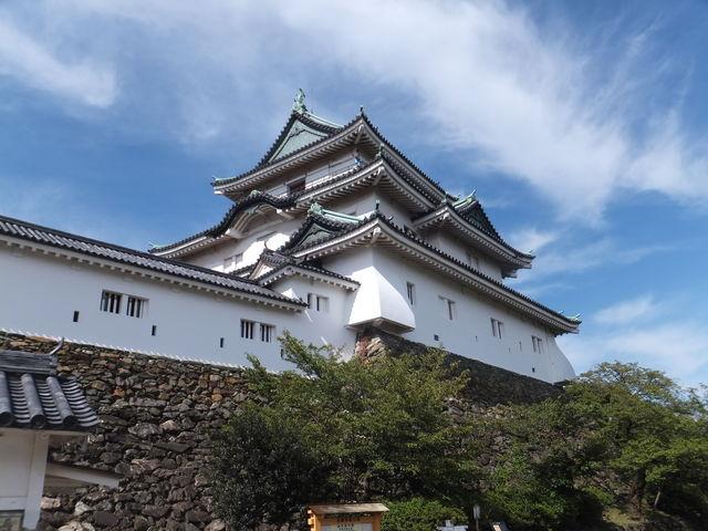 初秋の天守_和歌山城