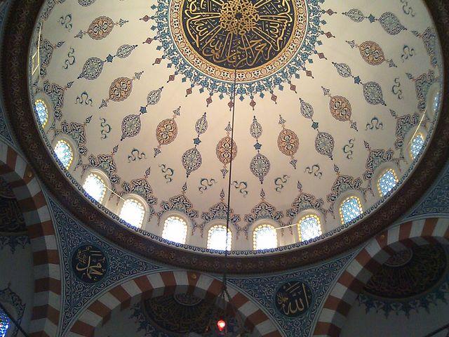 イスラム文化の偉大さがヒシヒシと・・・・_東京ジャーミィ・トルコ文化センター