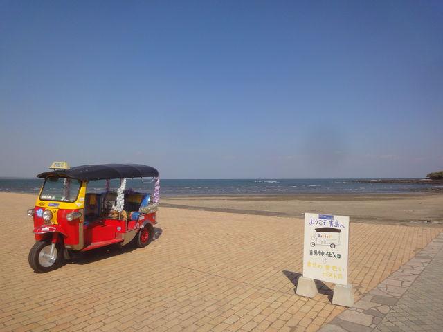 美しい_青島海水浴場