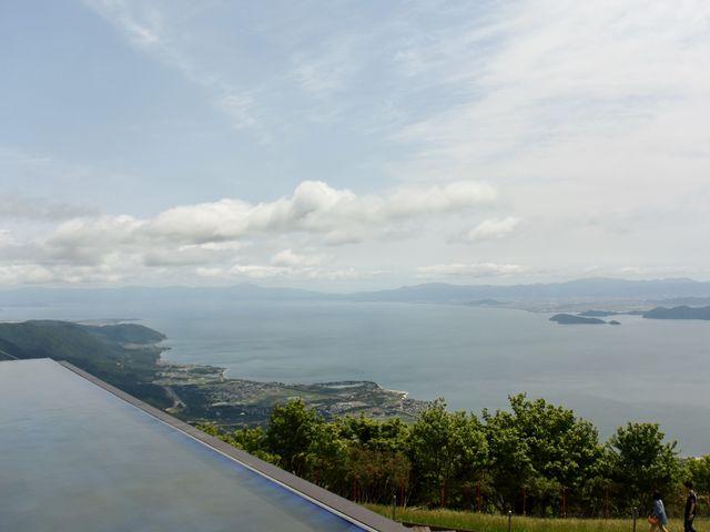 びわ湖テラスからの眺め_びわ湖テラス