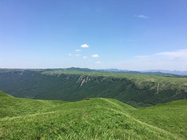 外輪山の景色_大観峰