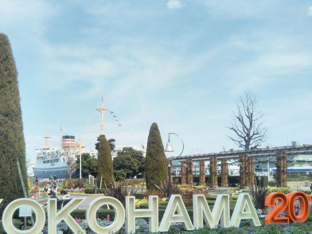 山下公園と日本郵船氷川丸_日本郵船氷川丸